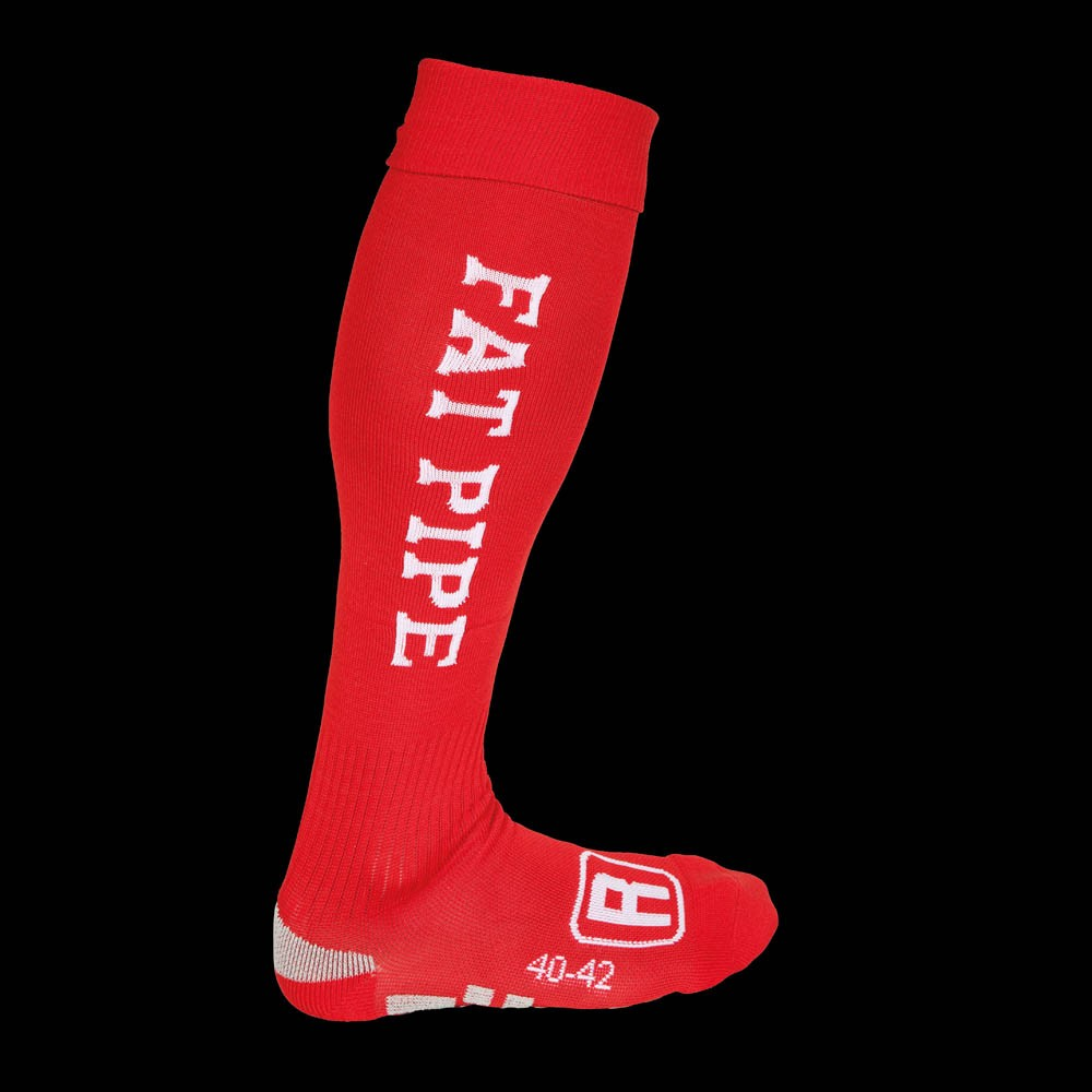 Fatpipe Players Socks red