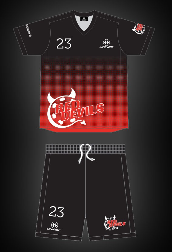 unihoc Warm-up Dress Campione Red Devils