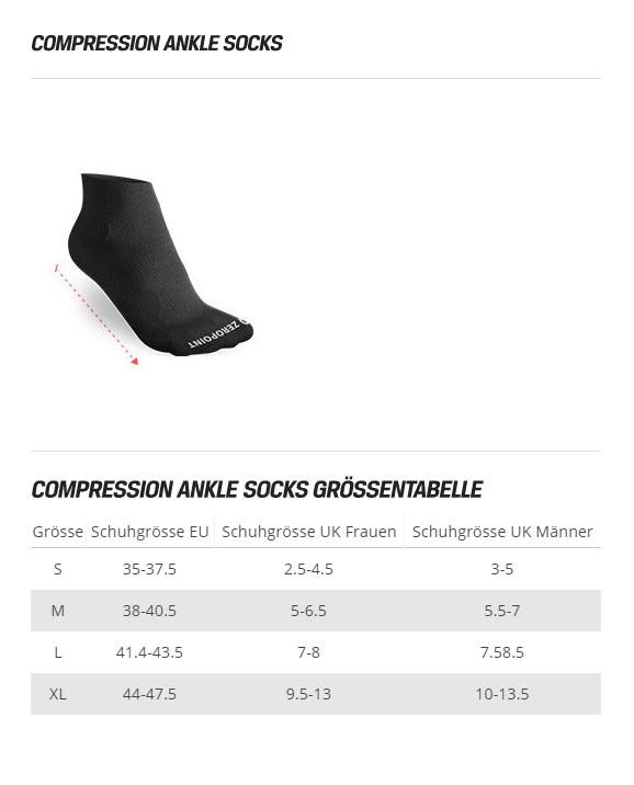 Zero Point Ankle Socks OX weiss