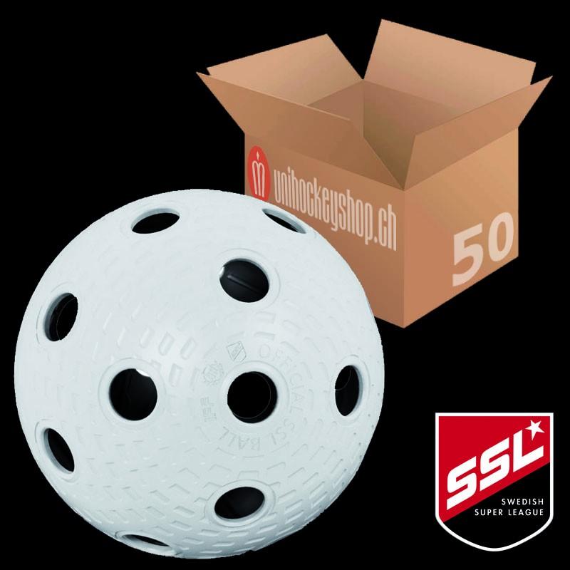 Klubbhuset Matchball SSL weiss (50er Pack)