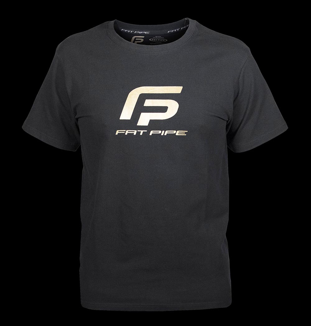 Fatpipe T-Shirt Tim black-gold