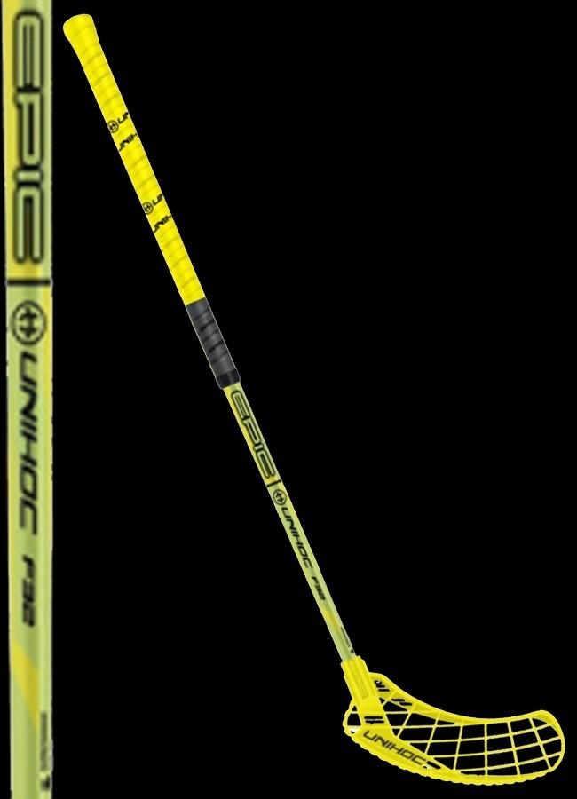 unihoc EPIC 32 neon yellow/black