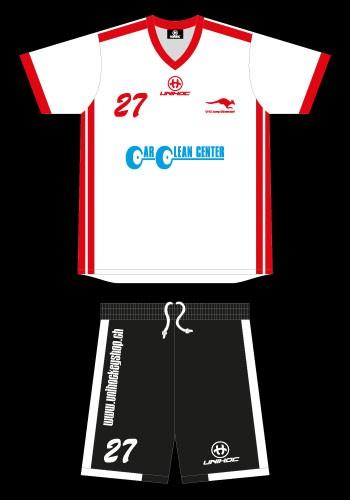 Custom Made Matchdress mit Bermudas unihoc Campione