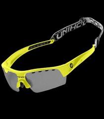 unihoc Sportbrille Victory Kids neongelb