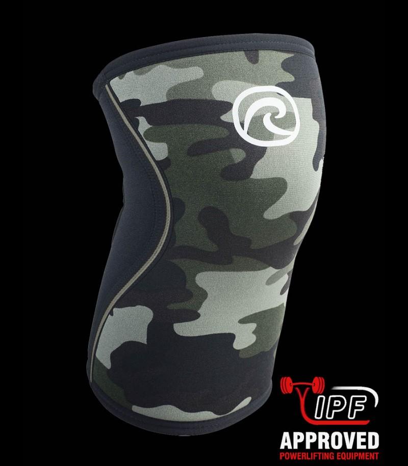 Rehband RX Kniebandage camouflage 7mm