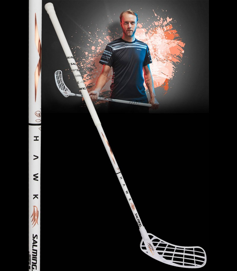 Salming Hawk X-Shaft KickZone 27 Rasmus Sundstedt Edition