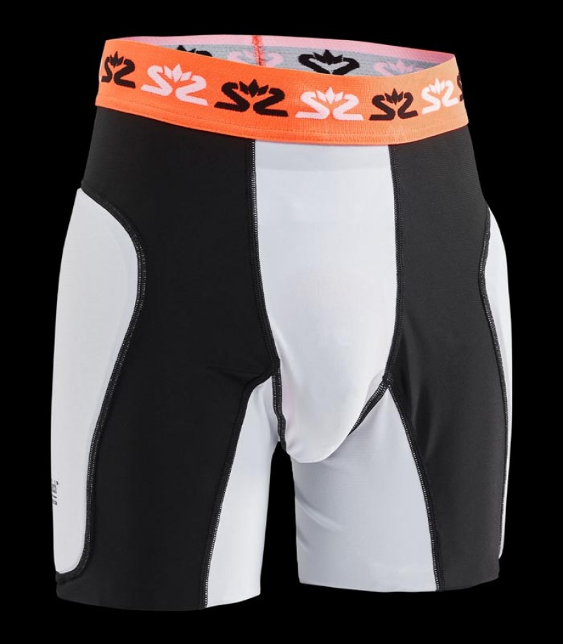 Salming Goalie Shorts Protective E-Series