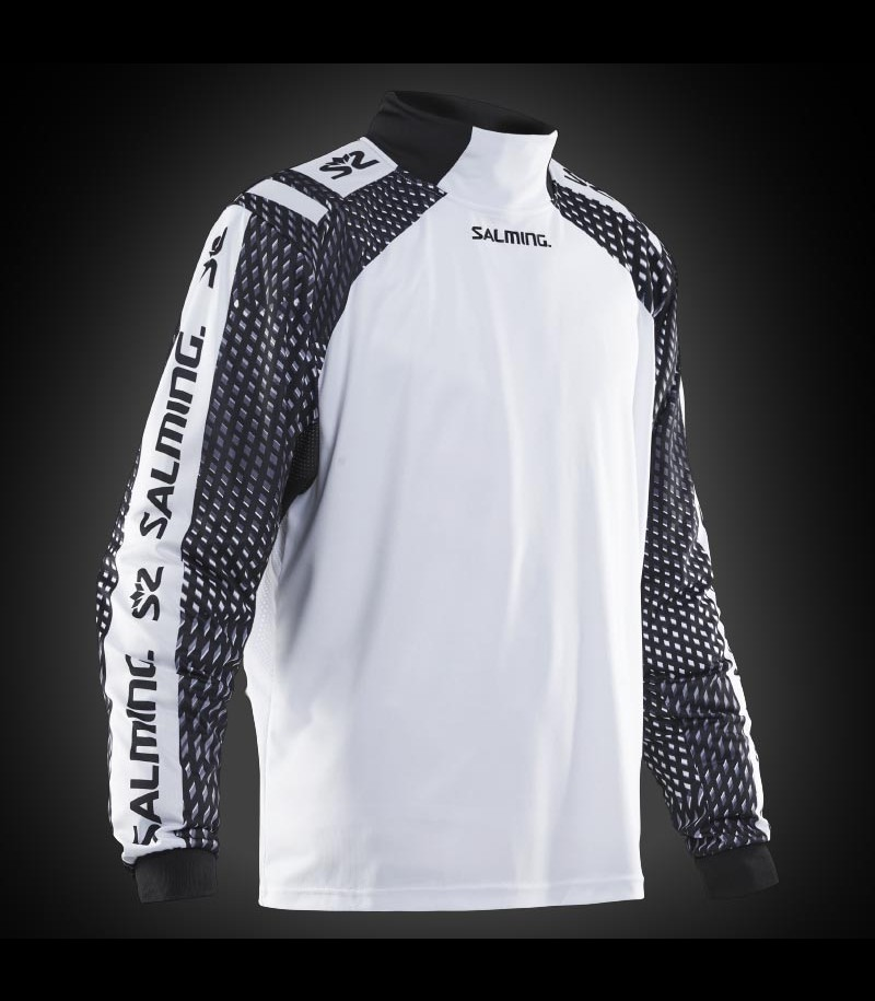 Salming Goalie Jersey Attila Senior white/black