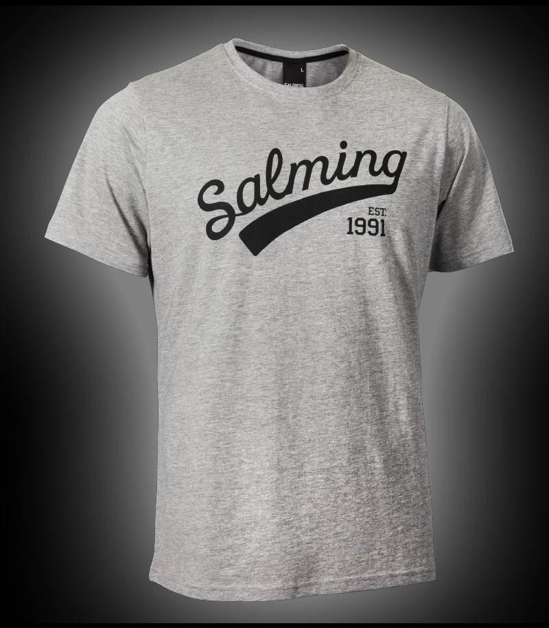 Salming Logo Tee grey