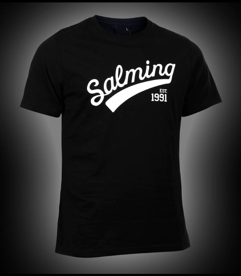 Salming Logo Tee Junior black