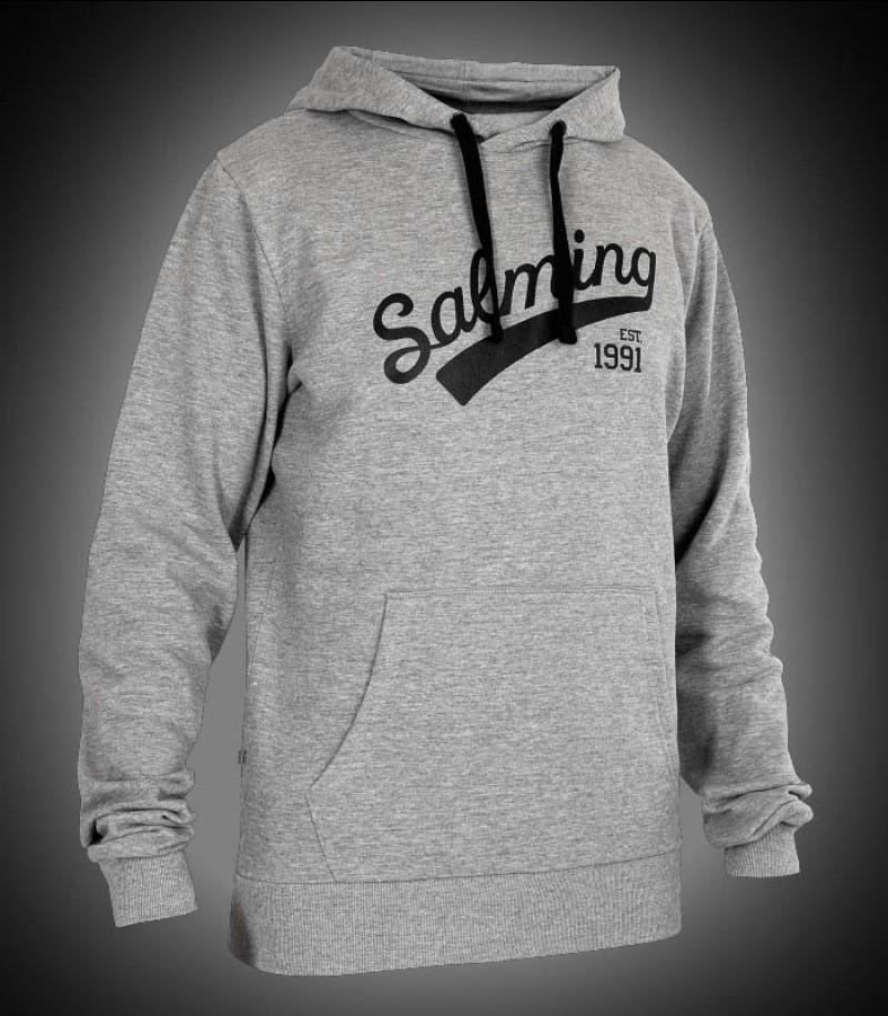 Salming Logo Hood grey