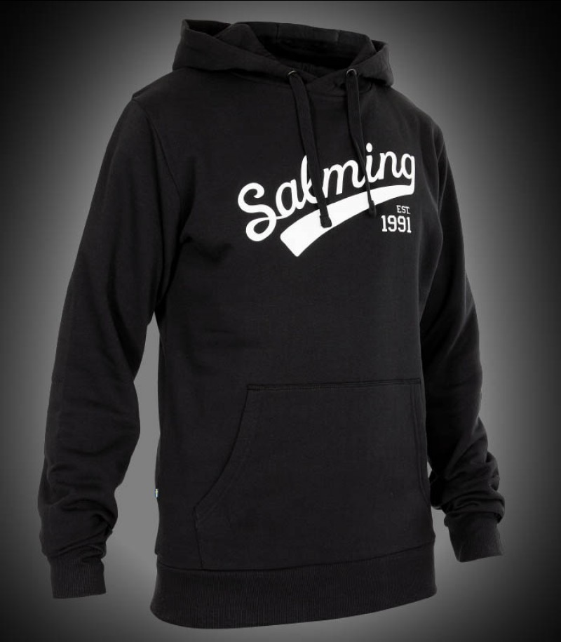 Salming Logo Hood Junior black