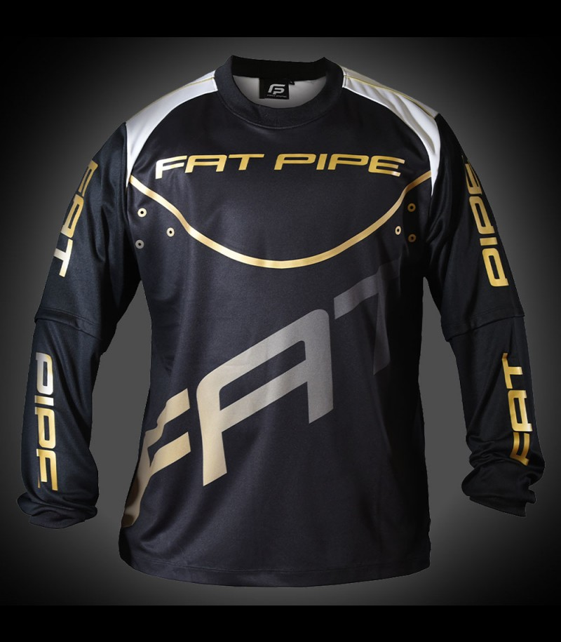 Fatpipe Goalieshirt black