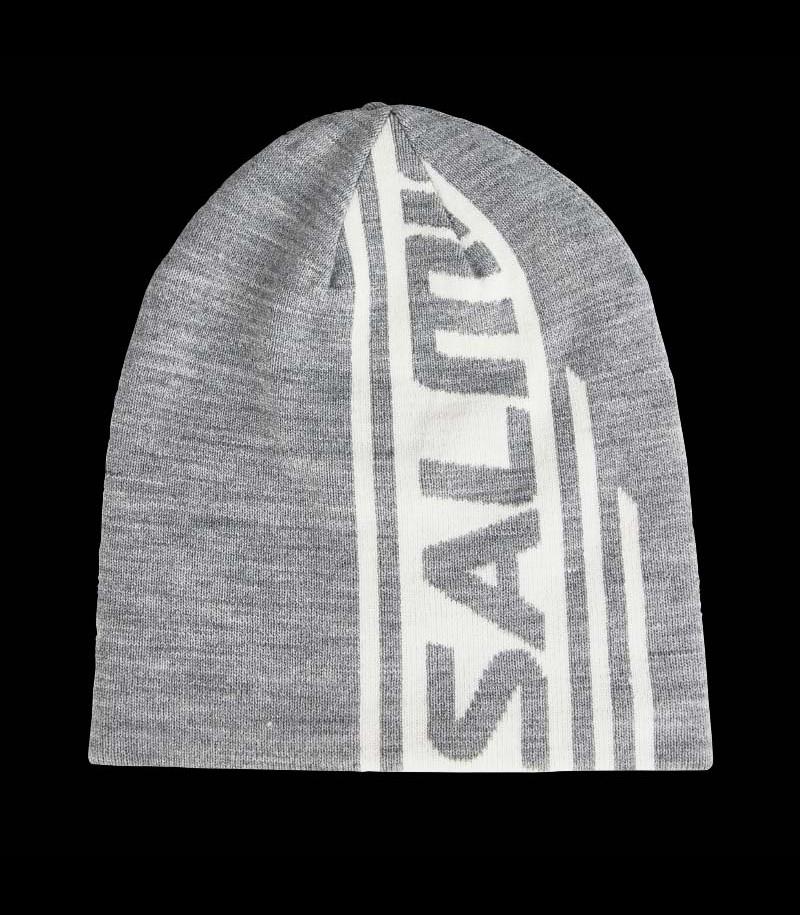 Salming Logo Beanie grey mélange