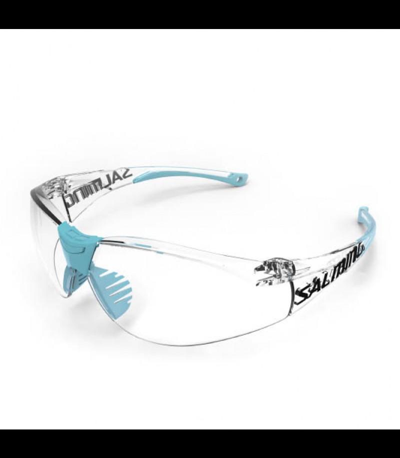 Salming Schutzbrille Split Vision Junior hellblau