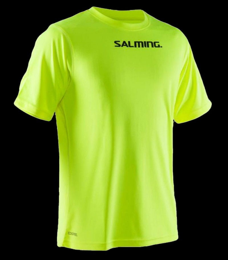 Salming Run Focus Tee Senior yellow