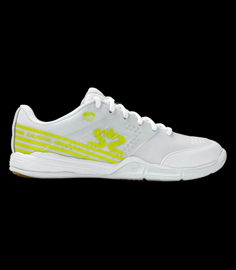 Salming Viper 5 Women white/fluo green