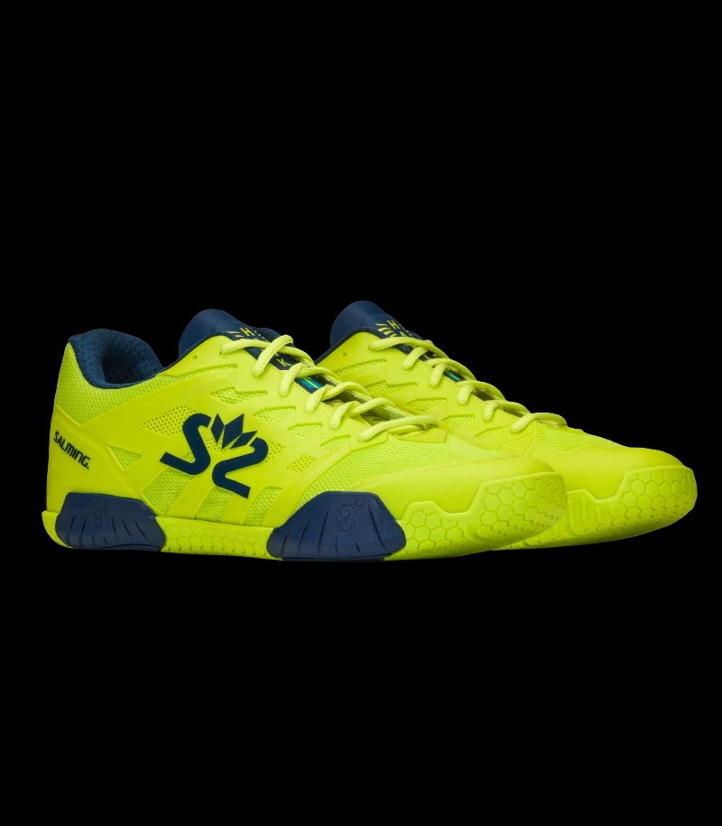 Salming Hawk 2 Men fluo green/navy