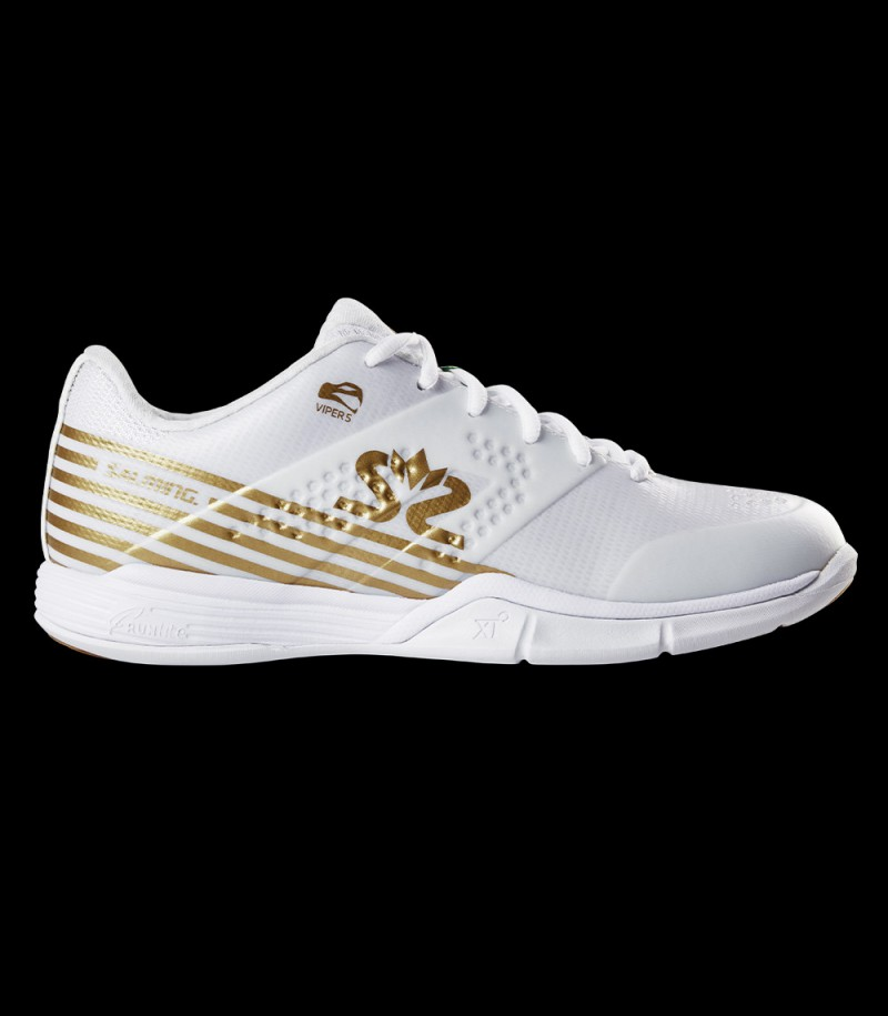 Salming Viper 5 Women white/gold