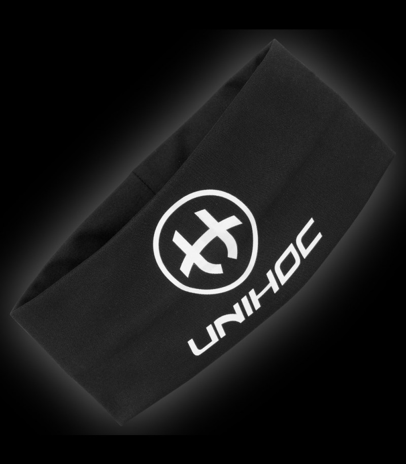 unihoc Headband Technic wide schwarz