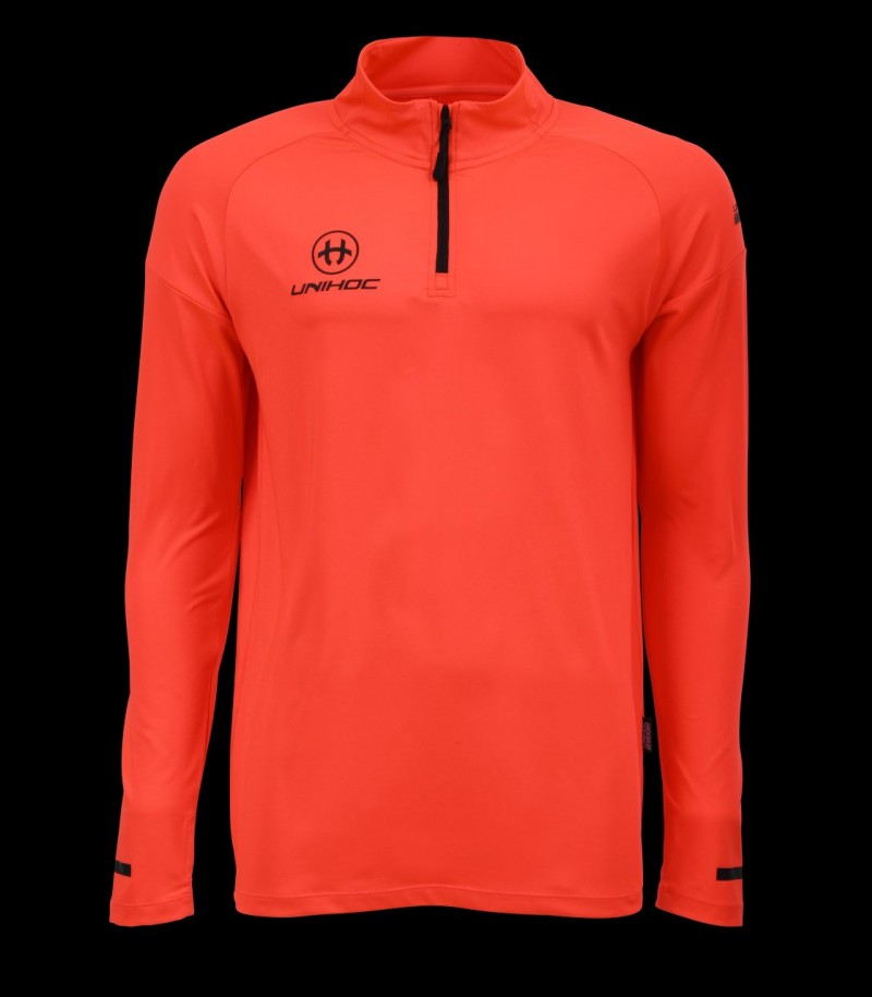unihoc Warm-up Longsleeve Technic coral