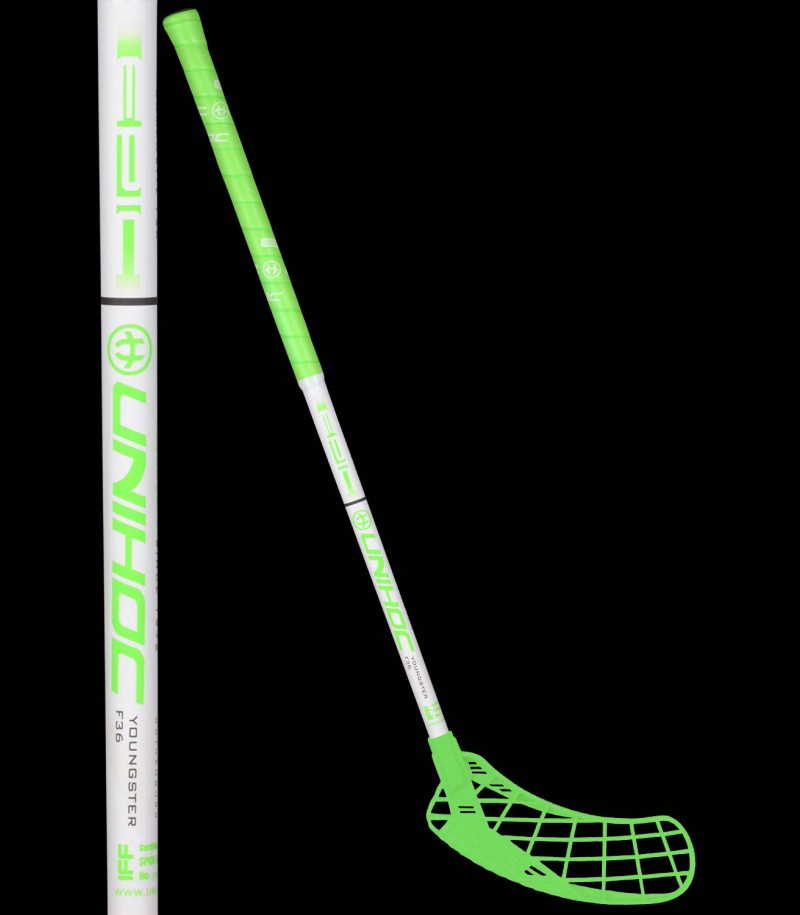 unihoc EPIC Youngster 36 neon grün