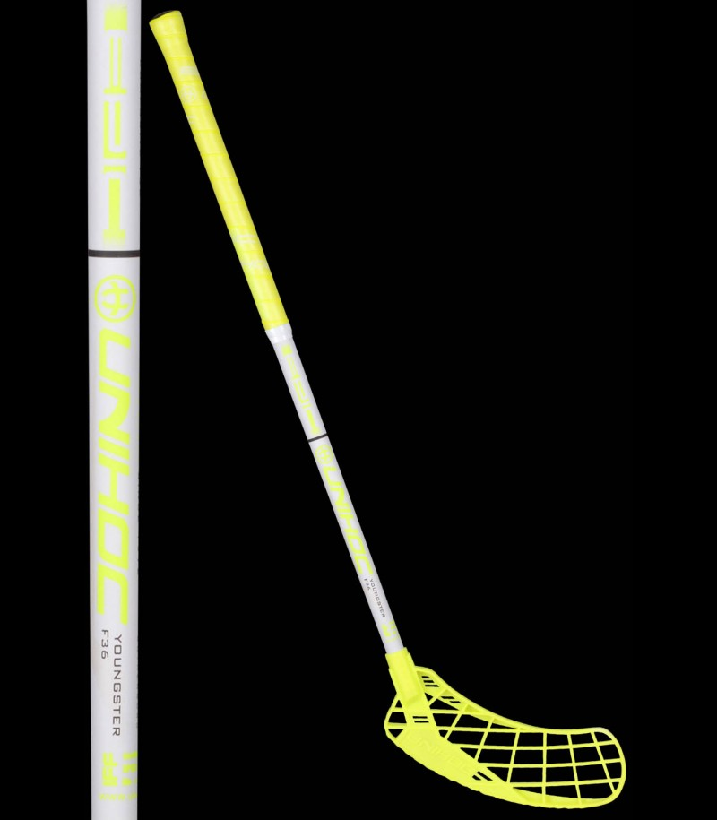 unihoc EPIC Youngster 36 neon gelb