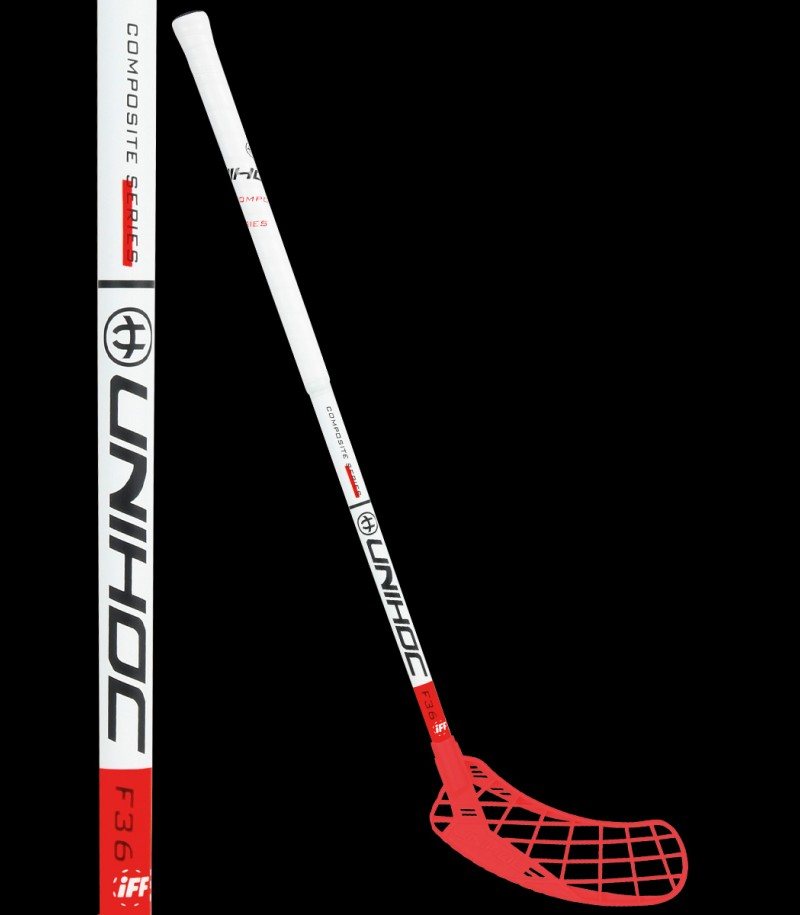 unihoc EPIC Youngster 36 white/red