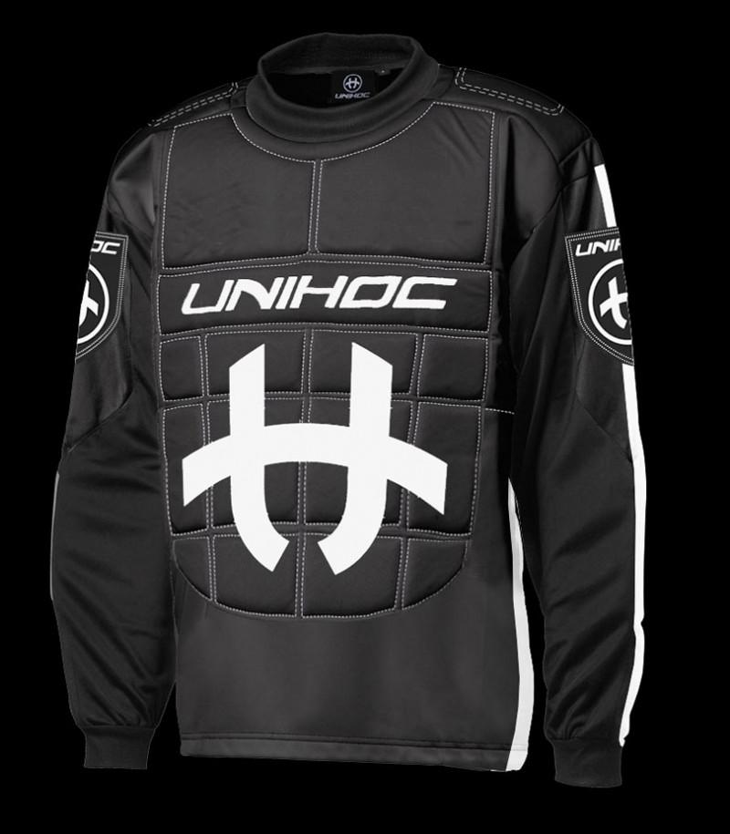 unihoc Torhüterpullover Shield Junior schwarz