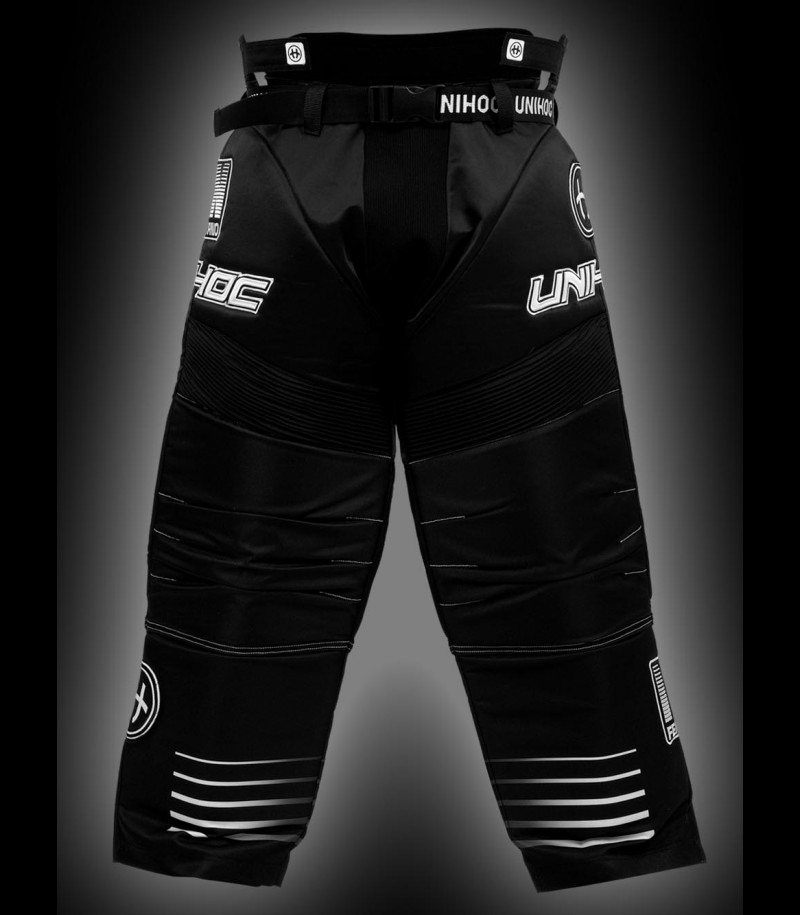 unihoc Goaliehose Inferno Junior schwarz