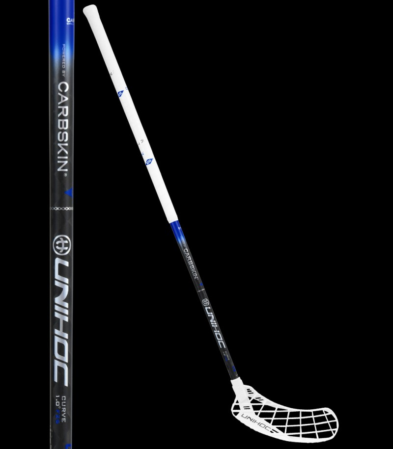 unihoc EPIC Carbskin Curve 1.0 26 white/black/blue