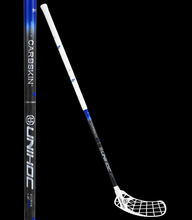 unihoc ICONIC Carbskin Curve 1.0 26 white/black/blue