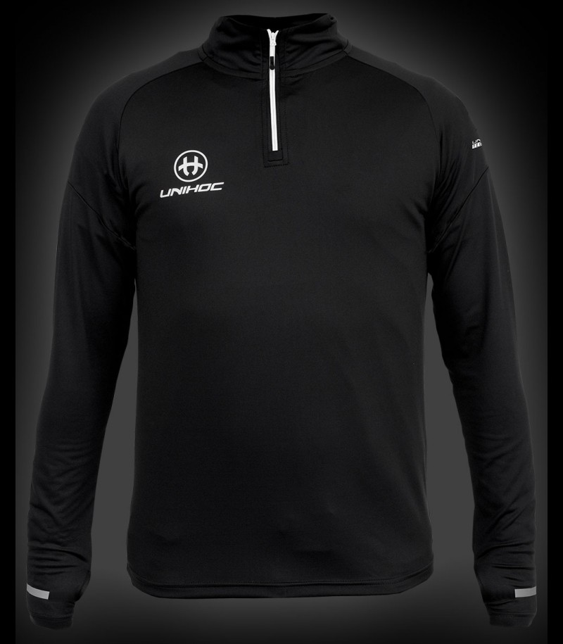 unihoc Warm-up Longsleeve Technic black