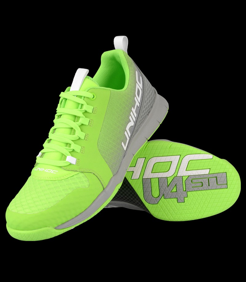 unihoc U4 Plus LowCut Men green/grey
