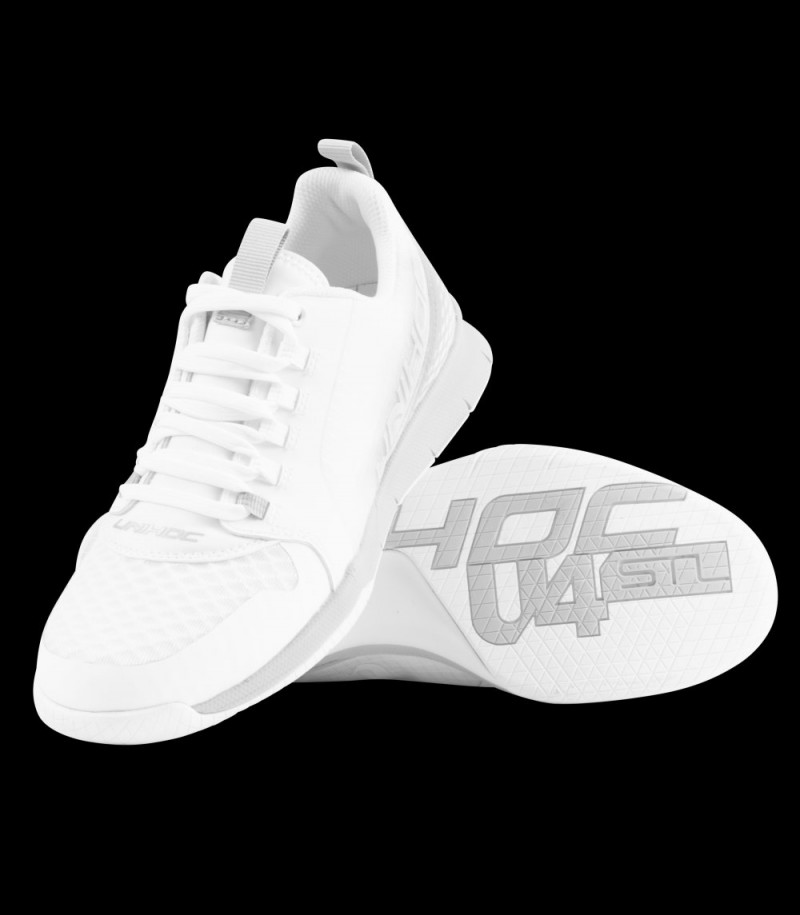 unihoc U4 Plus LowCut Women white/grey