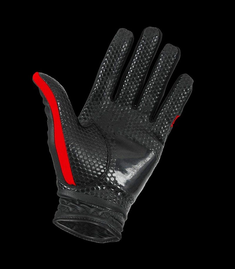 Zone Goaliehandschuhe PRO schwarz/rot