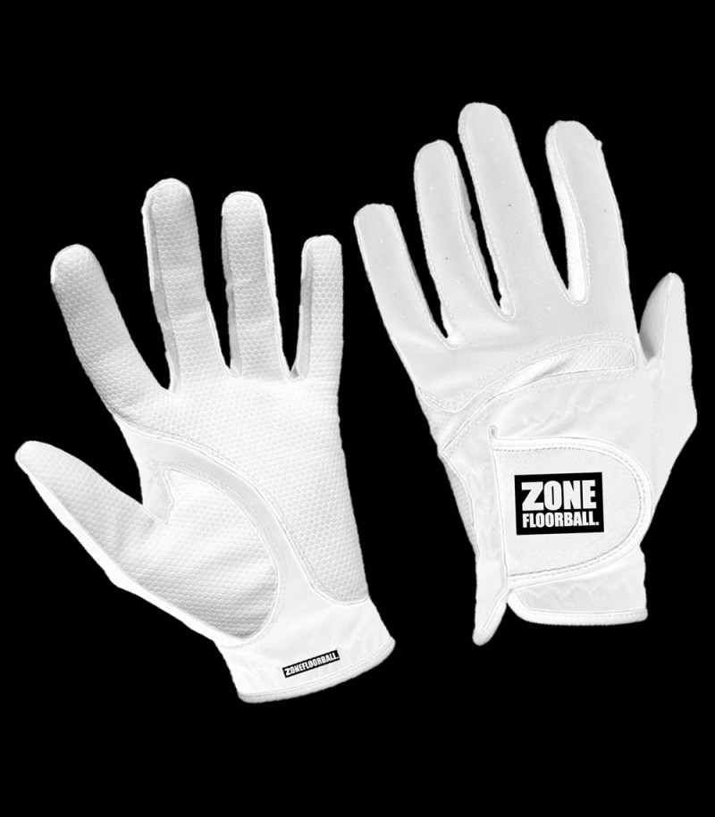 Zone Goaliehandschuhe Monster all white