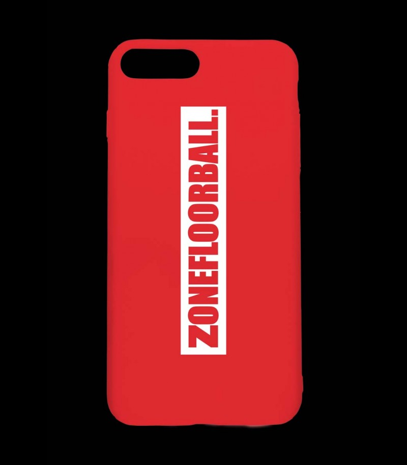 Zone iPhone 8 Plus Cover red