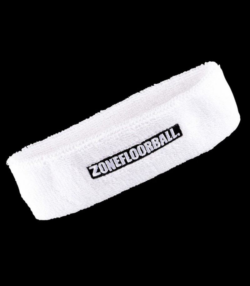 Zone Headband Retro weiss