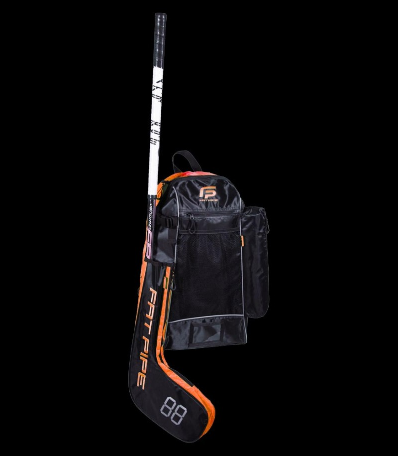 Fatpipe Stick Backpack black/orange