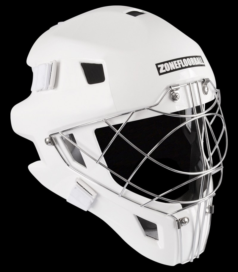Zone Goaliemaske Monster Cat Eye Cage all white