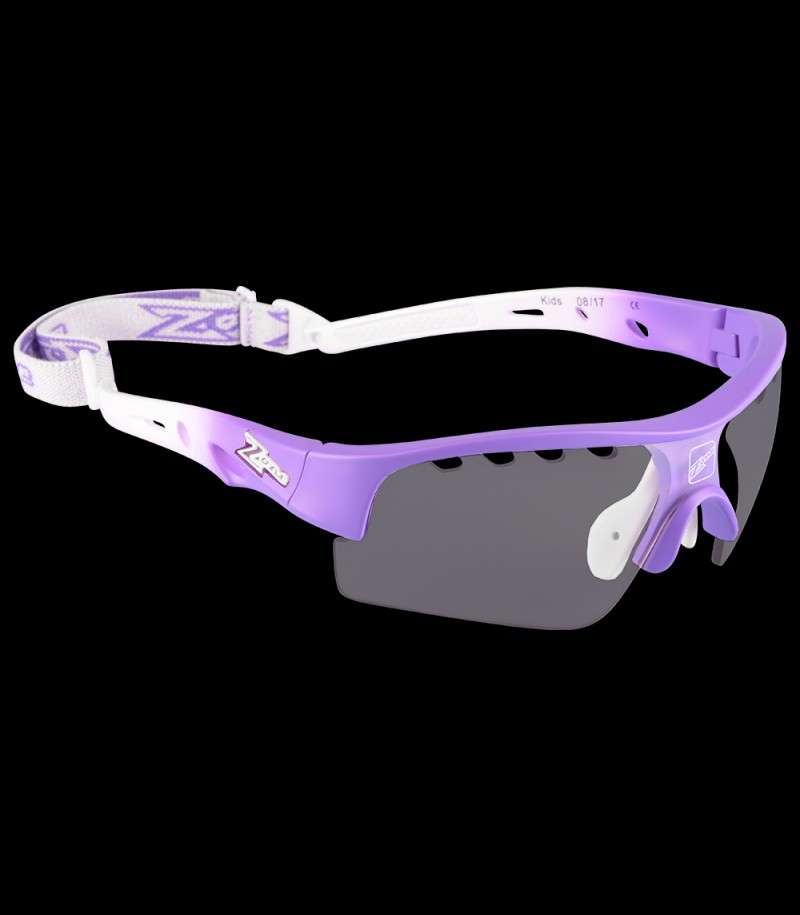 Zone Sportbrille Matrix Kids purple/white