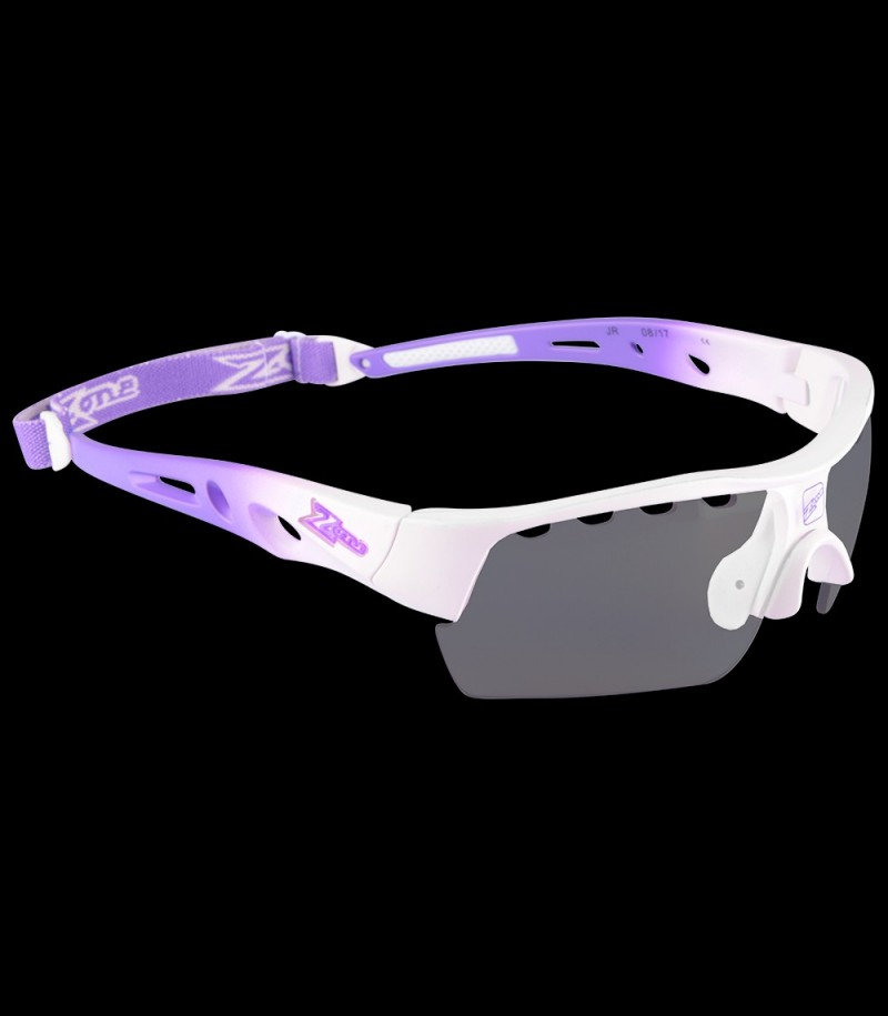 Zone Sportbrille Matrix Junior white/purple
