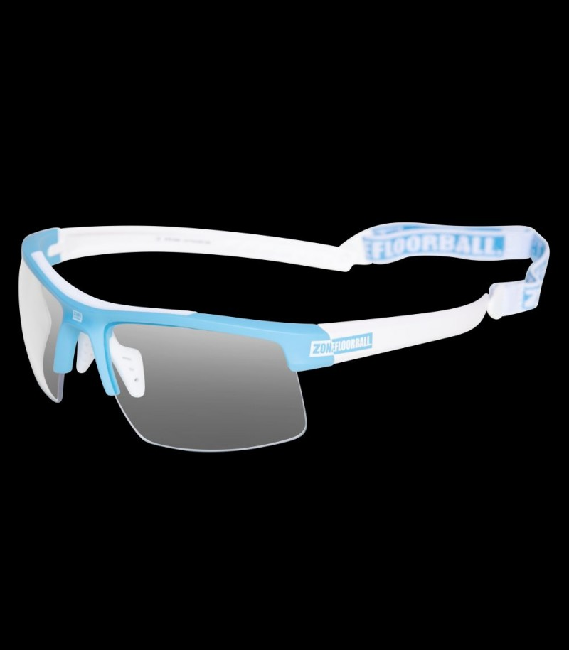 Zone Sportbrille Protector Junior blau/weiss