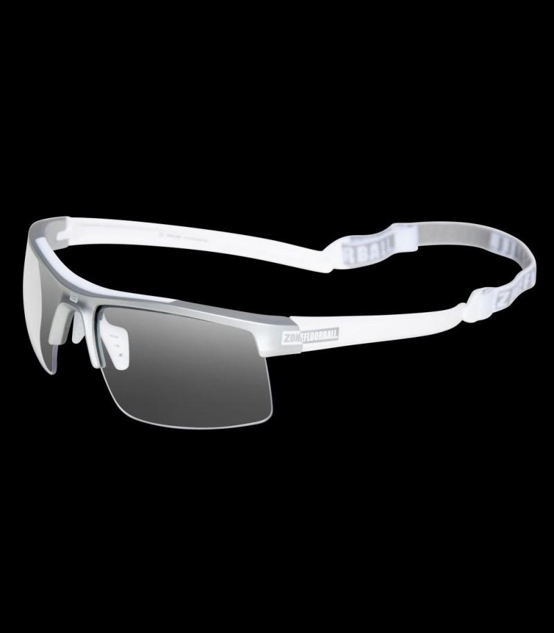 Zone Sportbrille Protector Senior weiss/silber