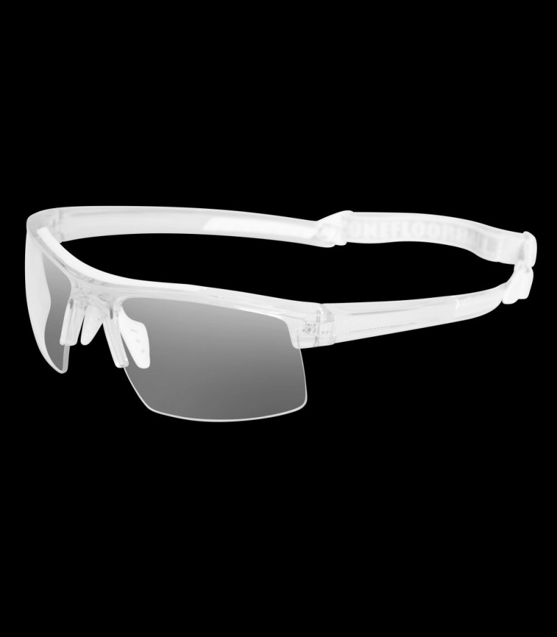 Zone Sportbrille Protector Junior transparent/weiss
