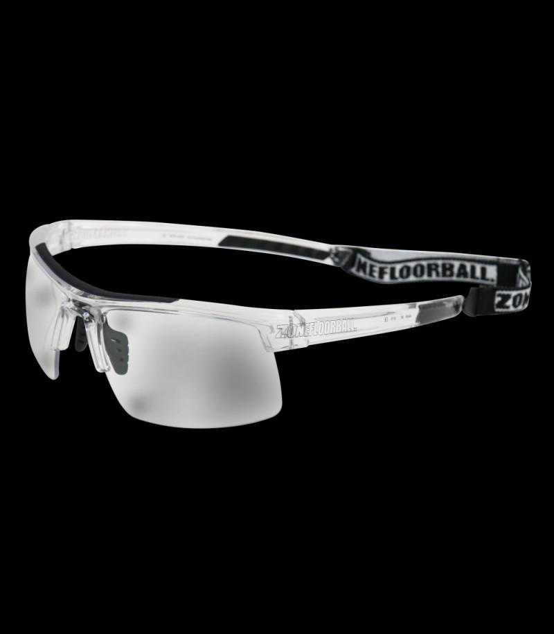 Zone Sportbrille Protector Senior transparent/schwarz