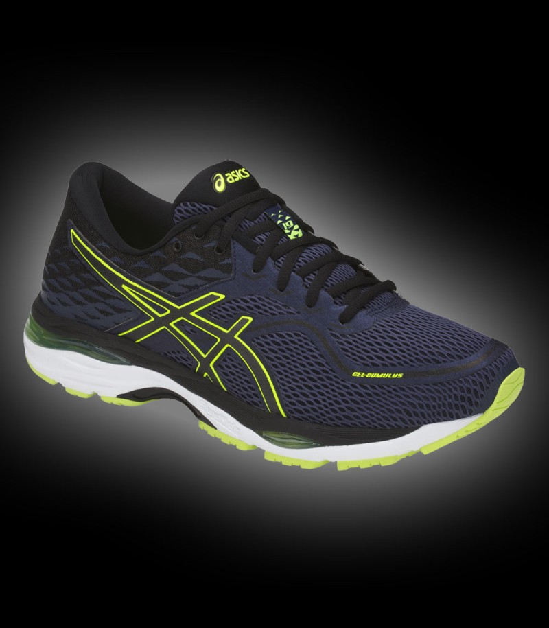 asics GEL-CUMULUS 19 black/yellow