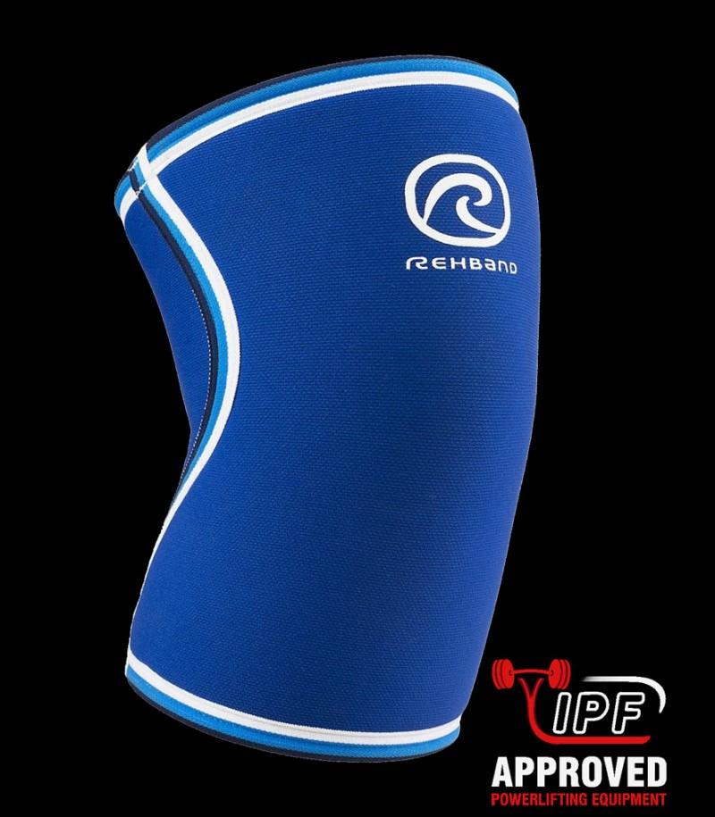 Rehband RX Kniebandage Original blau 7mm