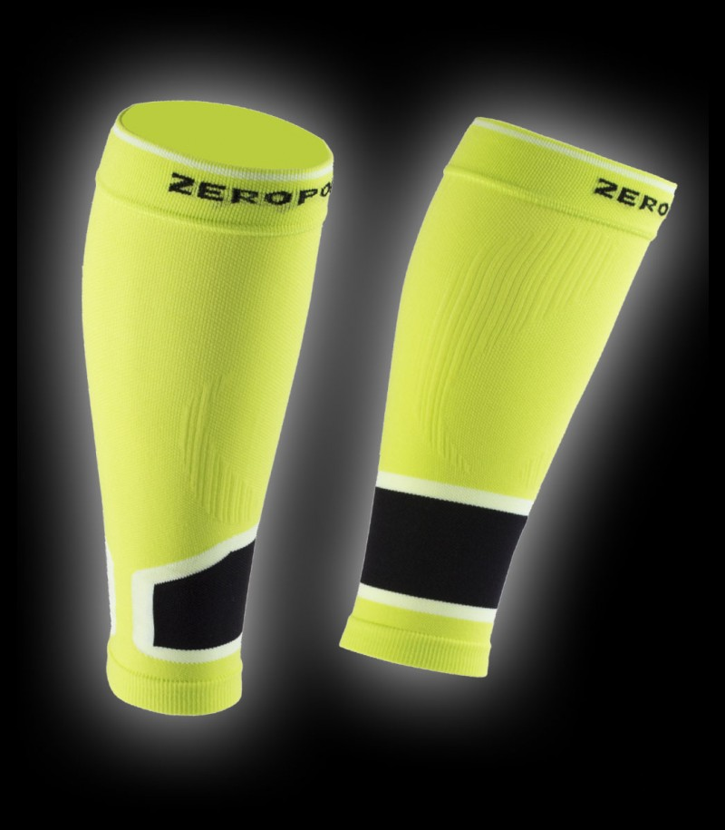 Zero Point Compression Calf Sleeves 2.0 lime